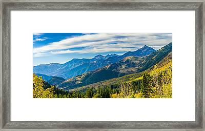 Sundance Autumn Framed Print