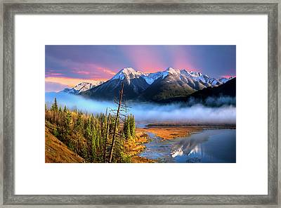 Framed Print featuring the photograph Sundance by John Poon