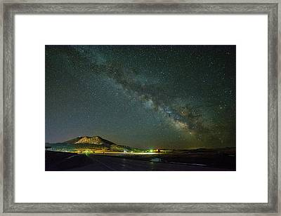 Sundance Milky Way Framed Print