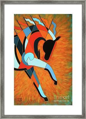 Sundancer Of The Fire I Framed Print