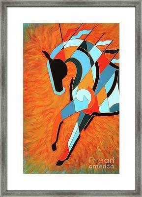 Sundancer Of The Fire II Framed Print