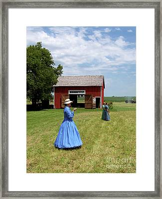Sunday Afternoon At Chaplin Creek Framed Print by Sue Stefanowicz