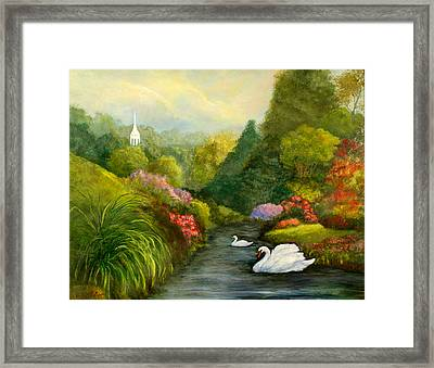 Sunday Afternoon Framed Print by Gail Kirtz