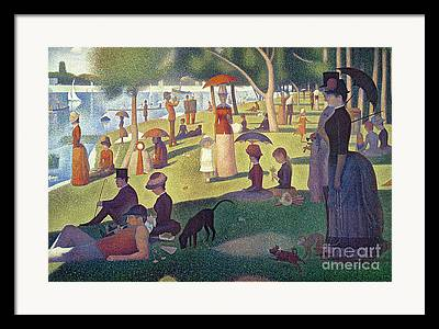 Seurat Georges-pierre Framed Prints