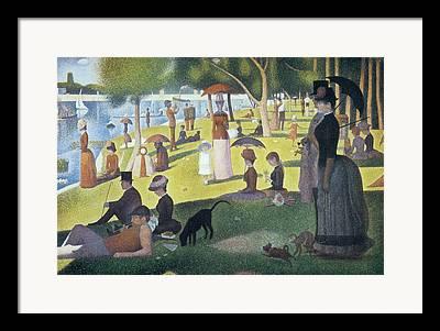 La Grande Jatte Photographs Framed Prints