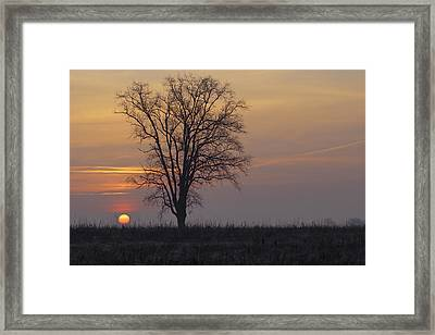 Sunday At Dawn Framed Print