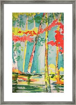 Sunday At Lake Lanier Framed Print