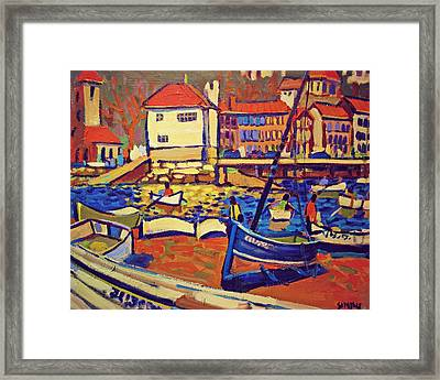 Sunday Boaters Framed Print by Brian Simons