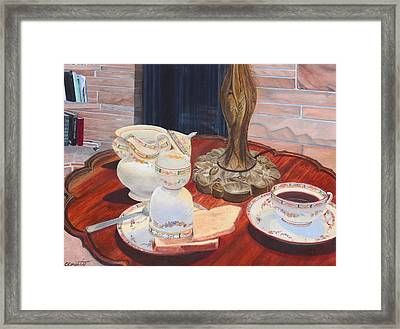 Sunday Breakfast Framed Print