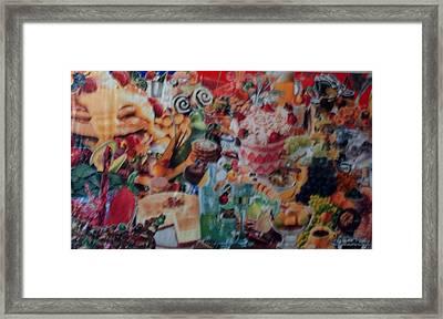 Sunday Brunch Framed Print by Nancy Graham