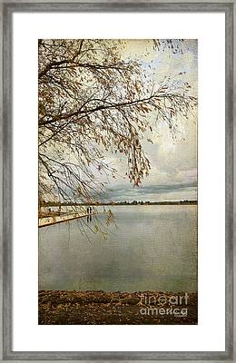 Sunday By The Lake II Framed Print by Chris Armytage