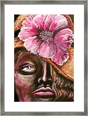 Sunday Hat Framed Print