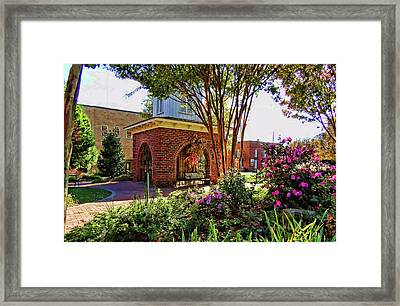 Sunday In The Park Framed Print by HH Photography of Florida