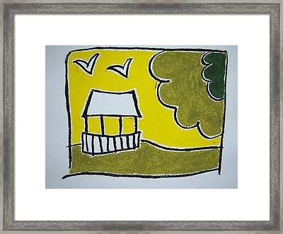 Sunday In The Park Framed Print by Pat  Lackenbauer