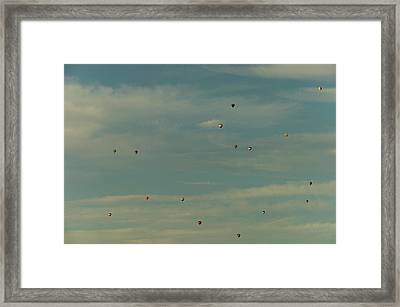 Sunday Meeting Framed Print
