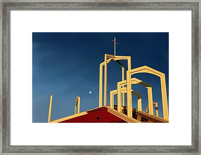 Sunday Morning Coming Down Framed Print by Kenny Chaffin