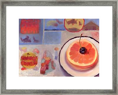 Sunday Morning Framed Print by Diane Houghton