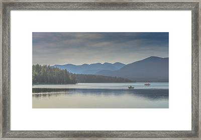 Framed Print featuring the photograph Sunday Morning Fishing by Chris Lord
