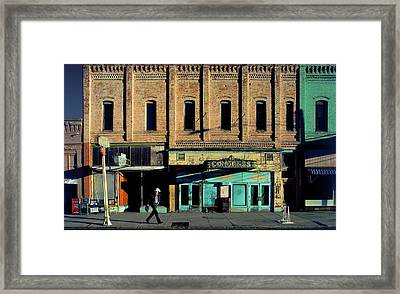 Sunday Morning In Palouse Framed Print by Jerry McCollum