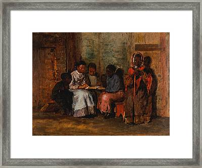 Sunday Morning In Virginia Framed Print by Winslow Homer