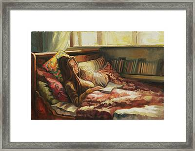 Sunday Morning Framed Print by Jonel Scholtz
