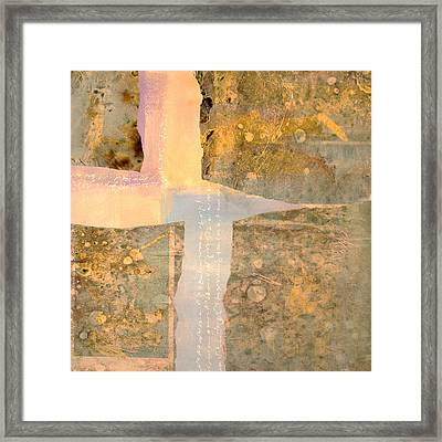 Sunday Morning Framed Print by Nancy Merkle