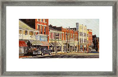 Sunday Morning Framed Print by Thomas Akers