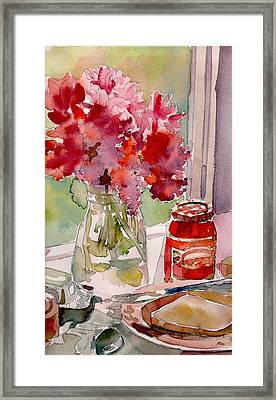 Sunday Morning Framed Print by Yolanda Koh