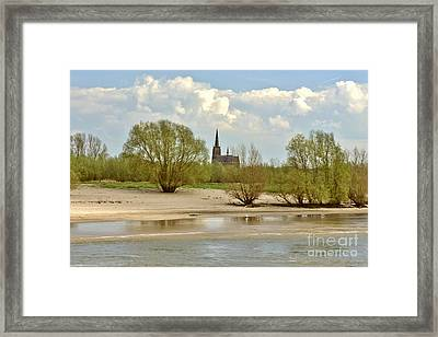 Sunday On The Rhine Framed Print