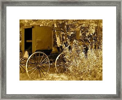 Sunday Ride Framed Print by Jennifer Addington