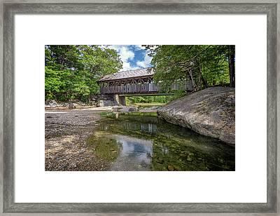 Sunday River Bridge Framed Print