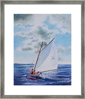 Sunday Sail Framed Print