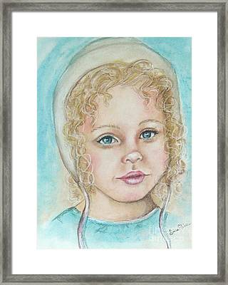 Sundays Child Framed Print by Sandra Valentini