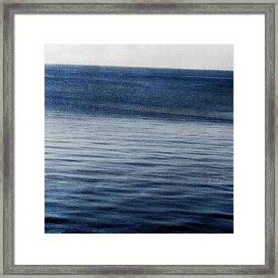 Sundet- Abstract Art Framed Print by Linda Woods