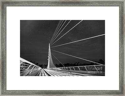Sundial Bridge 2 Framed Print