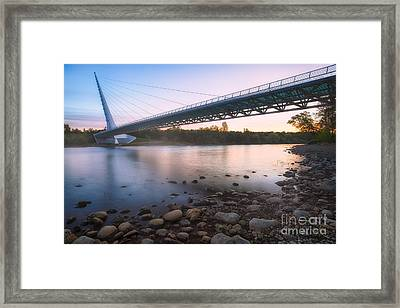 Sundial Bridge 7 Framed Print