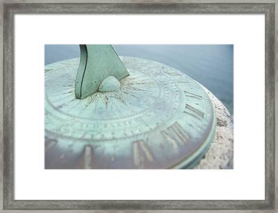 Sundial IIi Framed Print