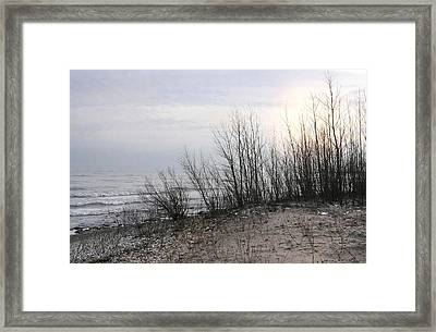Sundown Framed Print by Dan Holm