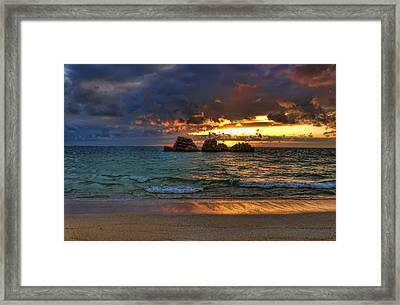 Sundown Framed Print by Ryan Wyckoff