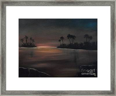 Sundown Framed Print by Shawn Cooper