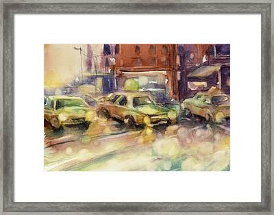 Sundrops Framed Print by Judith Levins