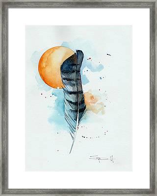 Sunfeather Framed Print