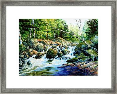 Sunfish Creek Framed Print by Hanne Lore Koehler
