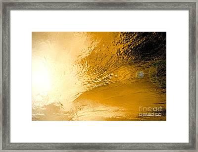 Sunflare Framed Print by Em'Art