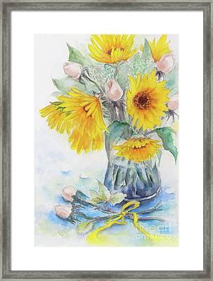 Sunflower-4 Framed Print