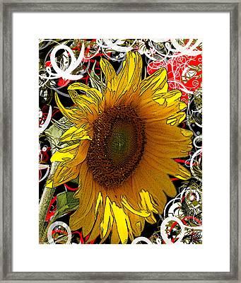 Sunflower Dreaming Framed Print