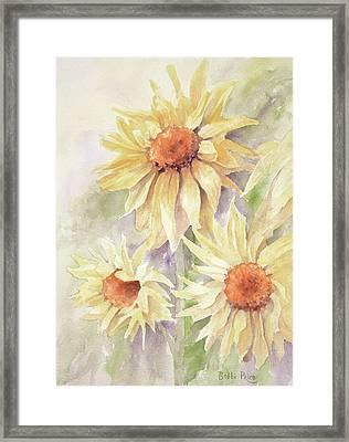 Sunflower Dreams Framed Print by Bobbi Price