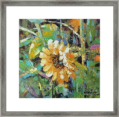 Sunflower I Framed Print