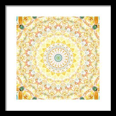 Mandala Framed Prints