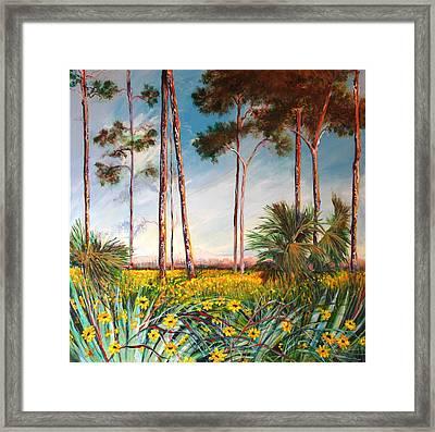 Sunflower Revival Framed Print by Michele Hollister - for Nancy Asbell